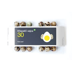 Pure Land's adorable egg packaging from Creasence.