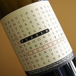 Interactive wine labeling from Puzzle Time.  It's probably best to start the crossword before you finish the bottle of wine.