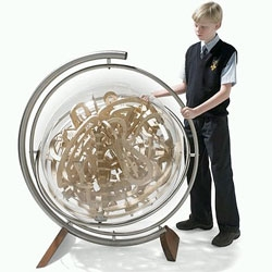 The Superplexus - This is the three-dimensional spherical labyrinth!