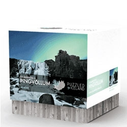 Lovely packaging for these puzzles from Puzzled by Iceland.
