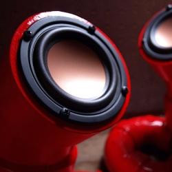ikymagoo makes gorgeous PVC pipe speakers.