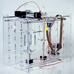 Pwdr is an open source powder-based 3D printer. Its goal is to promote experiments and innovations in powder-based rapid-prototyping.