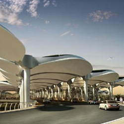 Arabic hospitality at Queen Alia International Airport by Foster + Partners.