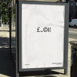Promotion of swear words and insults in a very public but subtle way.