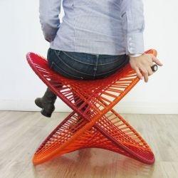 Brazilian designers Carolina Armellini and Paulo Biacchi of Fetiche Design have created the R540 Rocking Bench.