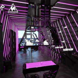 This Concept Store from Dutch Studio RAAR, brings a fresh approach to consumer experience for the French brand le Coq Sportif.