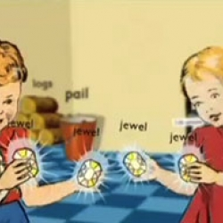 A  completely mesmerizing animation involving Dick & Jane. Check it out.