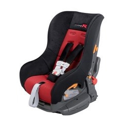 """When racing around in your sport's car ~ at least give the kid a matching car seat? """"Type R child-seat that Honda launched as part of the accessory list for its recently released, 225Hp Civic Type R Sedan."""""""