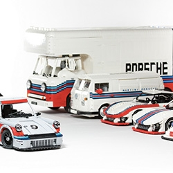 Malte Dorowski's series of Porsche/Martini Racing Team LEGOs are stunning!