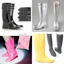 So, for some reason still unknown to me, i was trying to shop for real things, but kept finding rain boots and posting them to notcouture ~ here's a bunch of things now tagged RAIN!