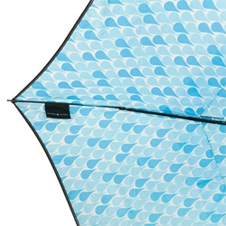 Naked & Angry Raindrops Umbrella by Michael Christoff