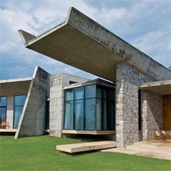 The Rishikesh House by Rajiv Saini + Associates.