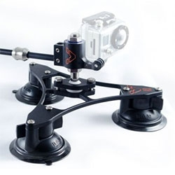 VectorMount for GoPro is a revolutionary vehicular mounting device for your GoPro designed to dynamically rotate the camera and create a richer, more stunning composition of video.
