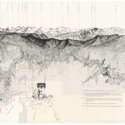 Beautiful cartographic illustrations by Matthew Rangel.