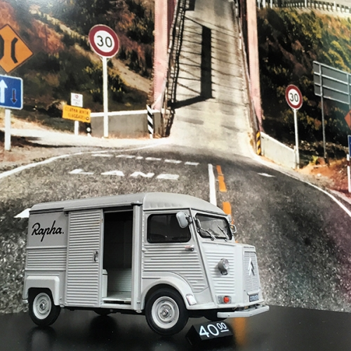 Rapha 1:24 Scale Citroen H Van! Our favorite iconic utilitarian van in toy form - filed with amazing details!