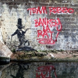 Banksy's nemesis King Robbo launches his first show, including his controversial re-graffiti pieces.