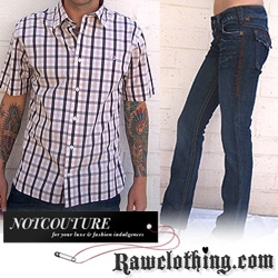 It's the last deal for NotCouture launch week. Get 25% off at our good ol' San Diego store, Raw Clothing!