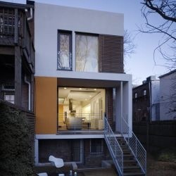 Studio27 Architecture have completed the Rincon Bates House in Capitol Hill, Washington DC.