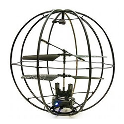 Kyosho Space Ball Remote control RC flying sphere gyroscope with an 'aroma function' to freshen up the air...