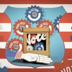 A beautiful animated video about the greatest benefit of voting: complaining. Real Complainers Vote by Third Street, Foundation Content and artist Ray Noland.