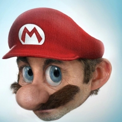 The real face of the Mario | The designers of the site Pixeloon, managed to render a quite realistic as would be the real face of Mario, hero of the nintendo games.