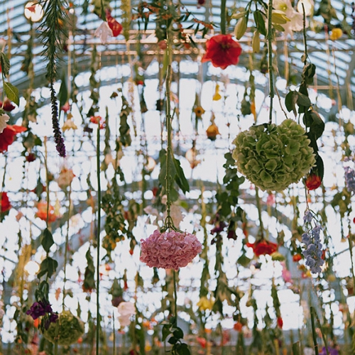 "Known for her collaborations with top fashion houses like Hermes and Mulberry, ""Celebration of Spring"" was Rebecca Louise Law's form of indulging the new season's arrival."