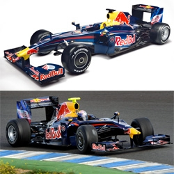 To present new RB5 Formula 1 car Red Bull Racing made an incredible 3D video that shows all the innovations in 2009 F1 season and all the spicy details of RB5.