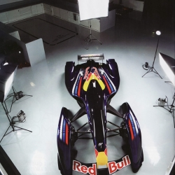 The GT5 Red Bull x-1 prototype car in full scale.
