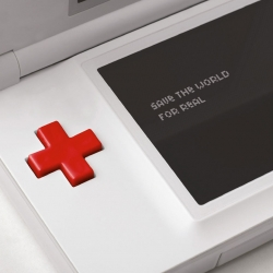 Red Cross | Save the World for Real. Campaign created by Leo Burnett of Beirut to encourage volunteerism among young people.