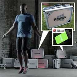"Reebok launched their new Fit List Spotify App with a fun video and 100 special shoe ""boxes"" that have built in speakers and LEDs that respond to music and environment! See the video, making of, and inside the box!"