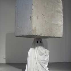 New York visual artist Reed Barrow works with light, smoke, video, installation, lights and magic.
