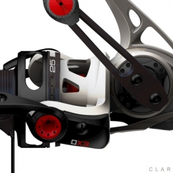 Advanced new fishing reel with exoskeletal construction that was launched in Las Vegas July 12th, 2011.  The new design has catapulted Quantum into a leading position in the industry.
