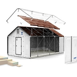 The Ikea Foundation has been working with the UN Refugee Agency (UNHCR), to create flat-pack designed refugee shelters.