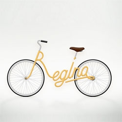 Typography Bikes by Juri Zaech.
