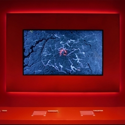 The Wild Reindeer Exhibition in Norway is Gagarin's most recent exhibition comprised of 13 interactive installations where users get to explore and experience the various historical, biological and social aspects related to the existence of these wild creatures.