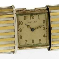 1950's Gadget Movado Sliding Watch.
