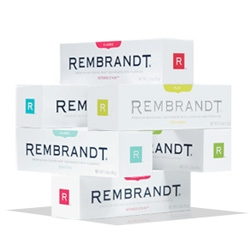 """toothpaste meet fashion. fashion meet toothpaste."" When rembrandt went for the rebrand ~ they really went all out on the lifestyle branding... check out their site."