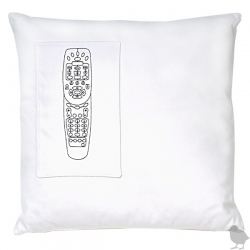 I hypothesize that several years from now the Remote Control Pocket Pillow by kstudio  will be a historic recollection to the days when people had no other means but to  use a remote control to channel surf.