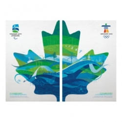 Official Posters Set of the Vancouver 2010 Olympic and Paralympic Winter Games