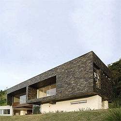 A beautiful house that overlooks Medellin, Colombia. By Jaime Rendon.