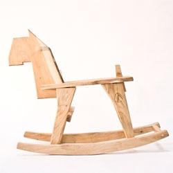Fun children's furniture by Bo Reudler at Dutch Design Week.