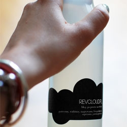 Revcloud.Pl celebrated their first anniversary and launching of Revcloud.Pracownia studio with this specially made/designed beverage.