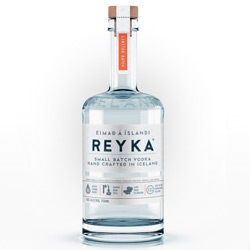 New REYKA Vodka Bottle Re-Design: clean bold and simple, by Here Design