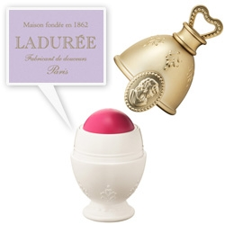 Les Merveilleuses De Ladurée ~ parisian macaron maker  collaborates for a cosmetics collection to launch in Japan.