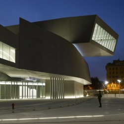 First images of Zaha Hadid's new Contemporary Arts Centre in Rome, Italy, which opens today