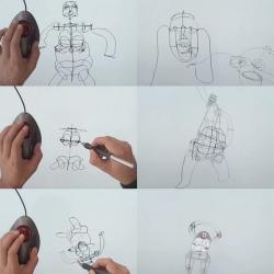 Illustrator James Paterson demonstrates the incredible 3D drawing tool, Rhonda.