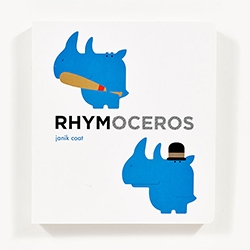 RHYMOCEROS By Janik Coat - an adorably illustrated kid's board book. Follow up to Hippopposites.