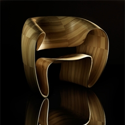 Ribbon Chair by Tom Vaughan.