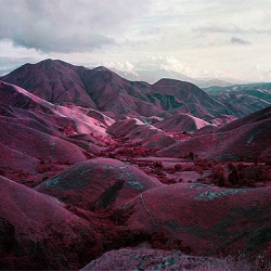 Fantastic images of the Congo shot with infrared film!