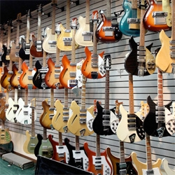 Inside the Rickenbacker... MUSEUM! Final part of this post series ~ you know i couldn't resist showing you the first electric guitar, and the design details of vintage guitars as well as concepts that may never be...